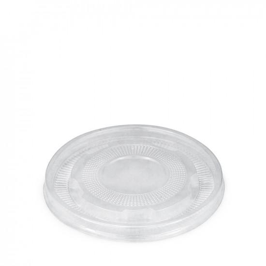 Крышка плоская PP для супового контейнера Ø=110мм   Прозрачная