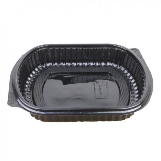 Контейнер PP с крышкой | Черный 200*240мм