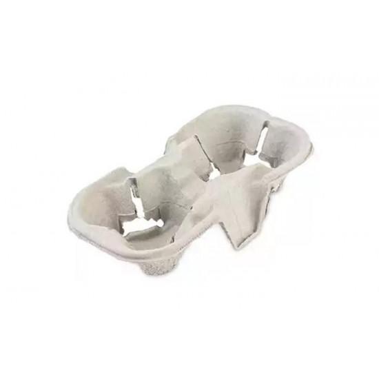 Холдер-держатель для 2-х стаканов бумажный | Белый 193*108*42мм