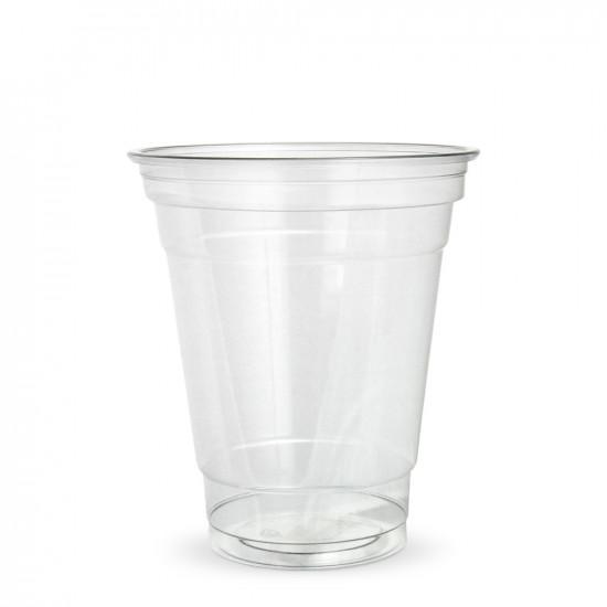 Стакан для коктейлей PET 300мл | Прозрачный Ø=95мм, h=110мм, NEW