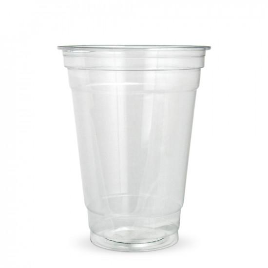 Стакан для коктейлей PET 400мл | Прозрачный Ø=95мм, h=123мм, NEW
