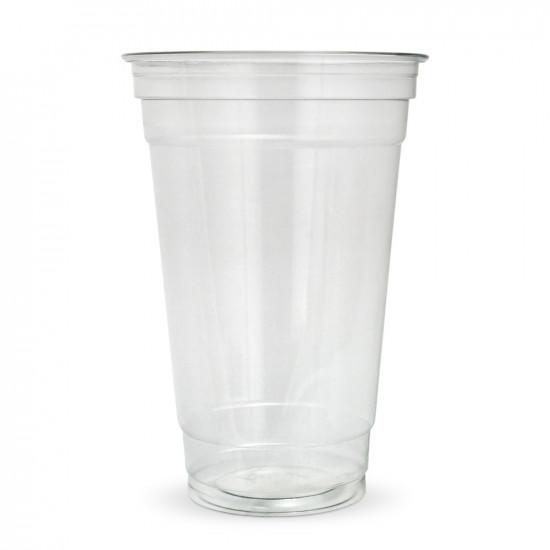 Стакан для коктейлей PET 500мл | Прозрачный Ø=95мм, h=140мм, NEW