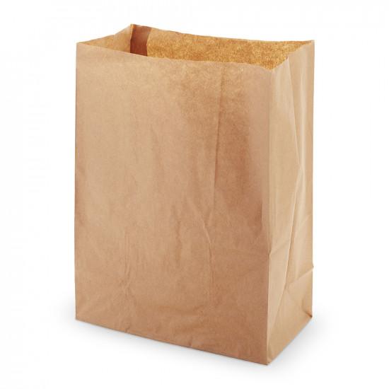 Крафт Пакеты без ручек прямоугольное дно | 260*130*350мм