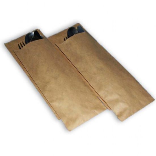 Пакет для столовых приборов | Крафт 170*70мм