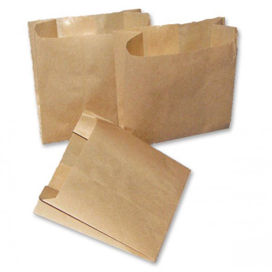 Пакетик для картошки фри   Крафт 110*100*55мм