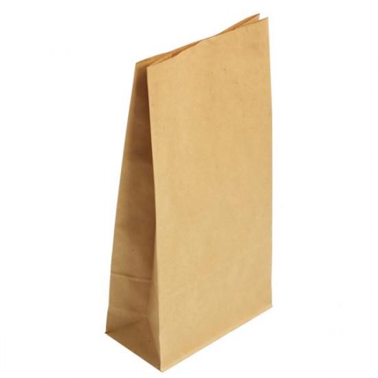 Крафт Пакеты без ручек прямоугольное дно | 170*120*280мм