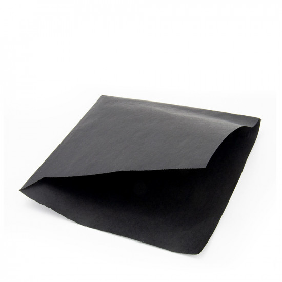 Уголок для бургера жиростойкий   Черный 160*170мм