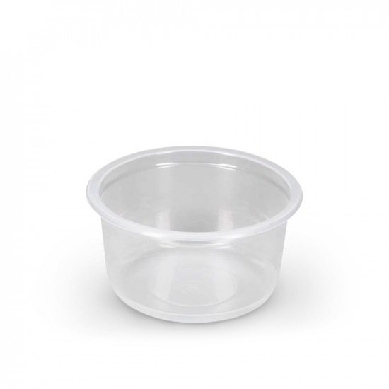 Контейнер круглый PP 350мл | Прозрачный Ø=115мм, h=58,6мм