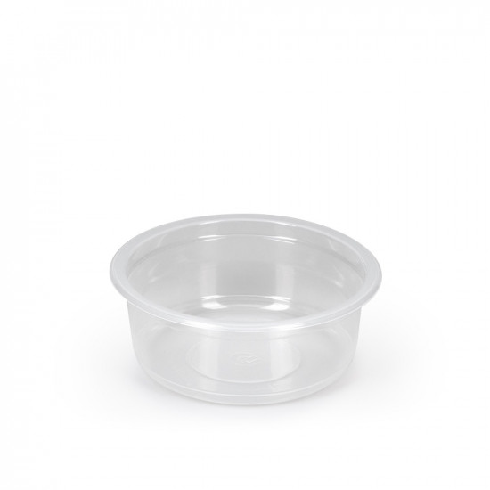 Контейнер круглый PP 250мл | Полупрозрачный Ø=115мм, h=43,6мм