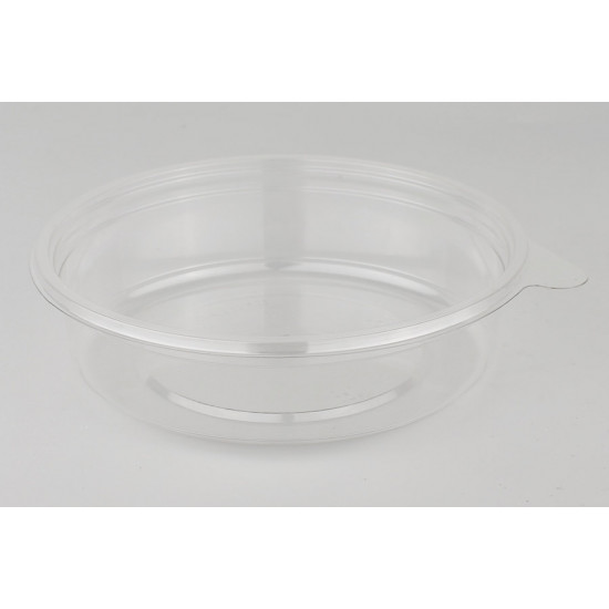 Контейнер круглый PET 250мл | Прозрачный Ø=131мм, h=34мм