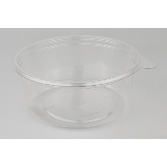 Контейнер круглый PET 500мл | Прозрачный Ø=131мм, h=44мм