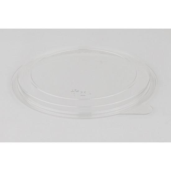 Крышка плоская PET | Прозрачная Ø=131мм, h=10мм