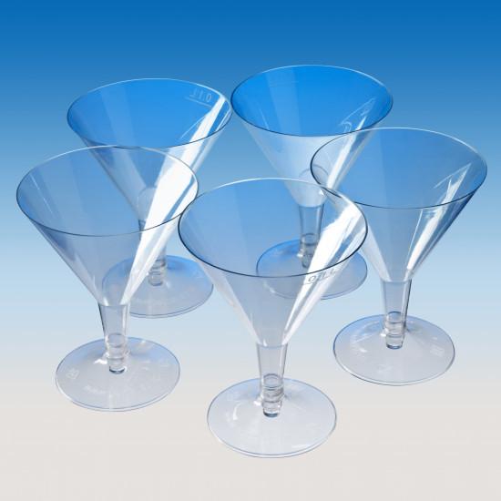 Бокал для мартини (на низкой ножке) 100мл | Прозрачный Ø=85мм, h=110мм