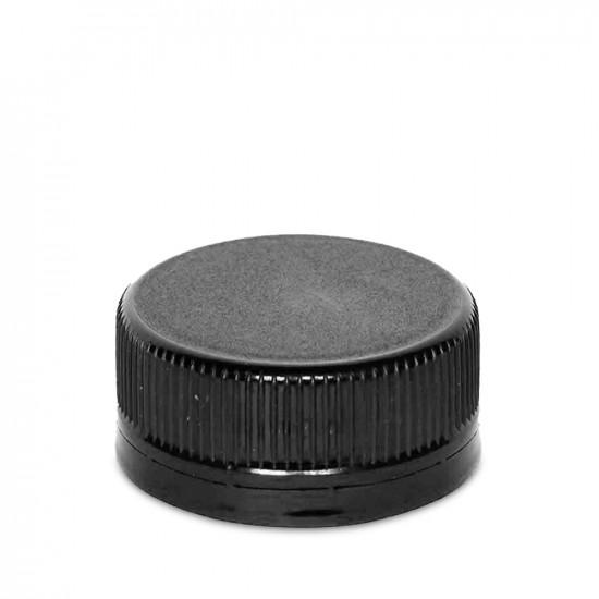 Крышка для PET-бутылки Ø28мм | Черная