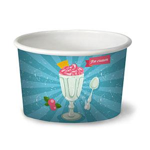 Брендирование - Стаканы для мороженного