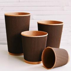 Одноразовые стаканчики оптом для кофе