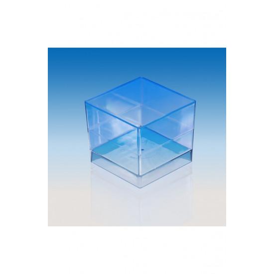 "Форма ""Куб"" 60мл | Черная 47*47*41мм"