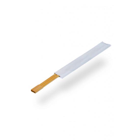 Палочки бамбуковые для суши сдвоенные в инд. бумажной упаковке d=230мм | Древесный