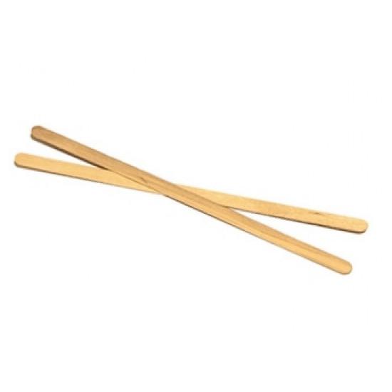 Мешалка деревянная Премиум d=14см | Дерево (800шт/уп)