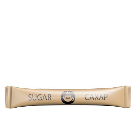 Сахар белый в стиках по 5г | Крафт (200шт/уп)