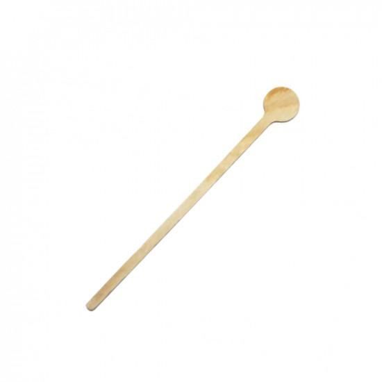 Мешалка деревянная фигурная d=18см | Дерево (100шт/уп)