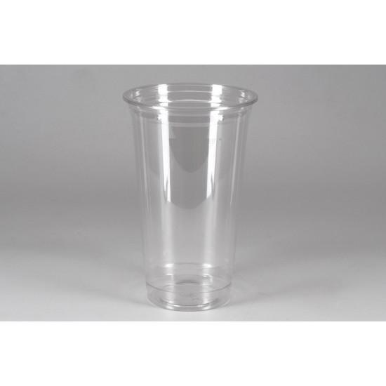 Стакан для коктейлей PET 500мл | Прозрачный Ø=95мм, h=152мм