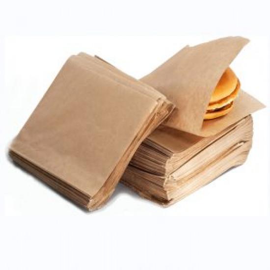 Уголок для бургера   Крафт 160*170мм