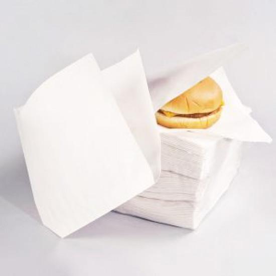 Уголок для бургера жиростойкий | Белый 160*170мм