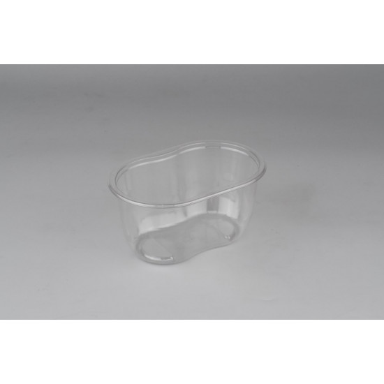 Контейнер (Ванночка) PET 500мл | Прозрачный 141*92*68,5мм