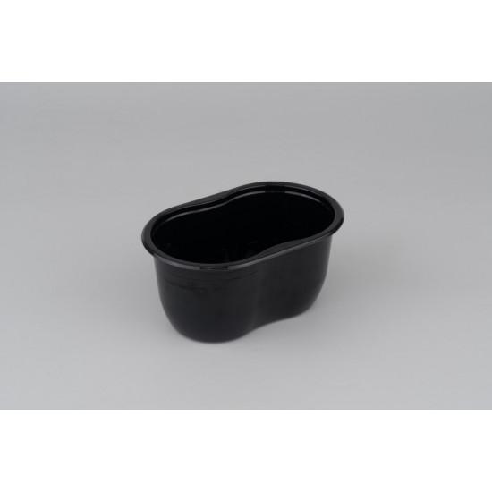 Контейнер (Ванночка) PET 500мл   Черный 141*92*68,5мм