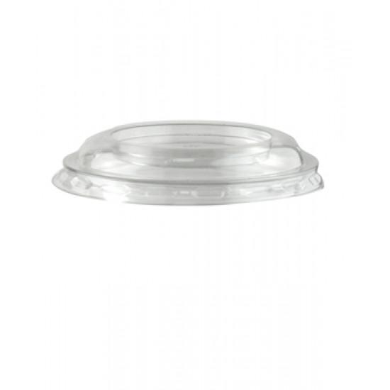 Крышка плоская PET для контейнера (Конус) Ø=95мм | Прозрачная