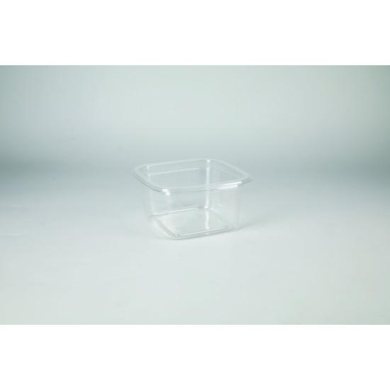 Контейнер (Кубик Лондон) PET 200мл | Прозрачный 93*93*48мм