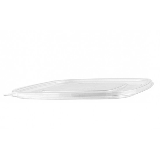 Крышка плоская PET к контейнеру   Прозрачная 190*190*16,2мм