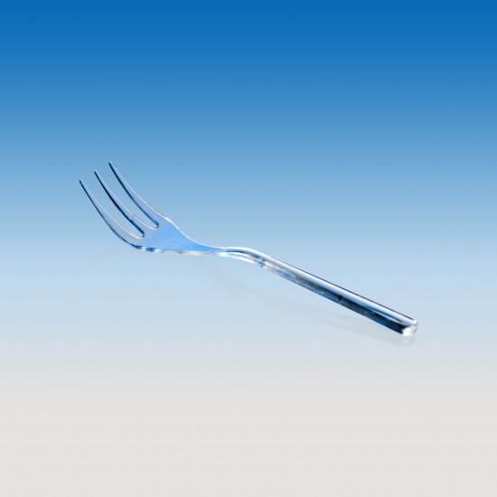 Мини-вилка d=100мм   Прозрачная