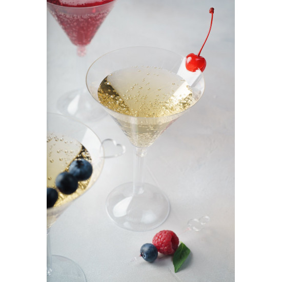 Фужер для мартини (на высокой ножке) 160мл   Прозрачный Ø=95мм, h=155мм