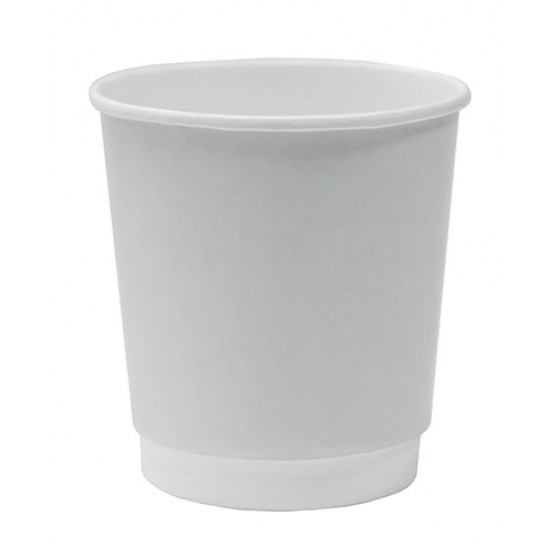 Стакан бумажный двухслойный 450мл | Белый Ø=90мм, h=135мм