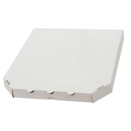 Коробка для пиццы из гофрокартона | Белый 300*300*30мм