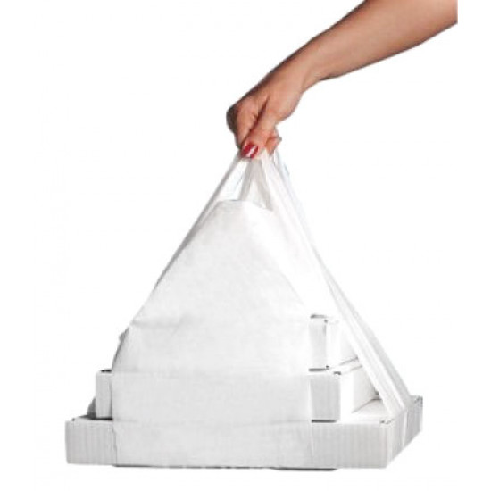 Пакеты XL для коробок под пиццу PET размером от 430*430мм до 500*500мм | Прозрачный